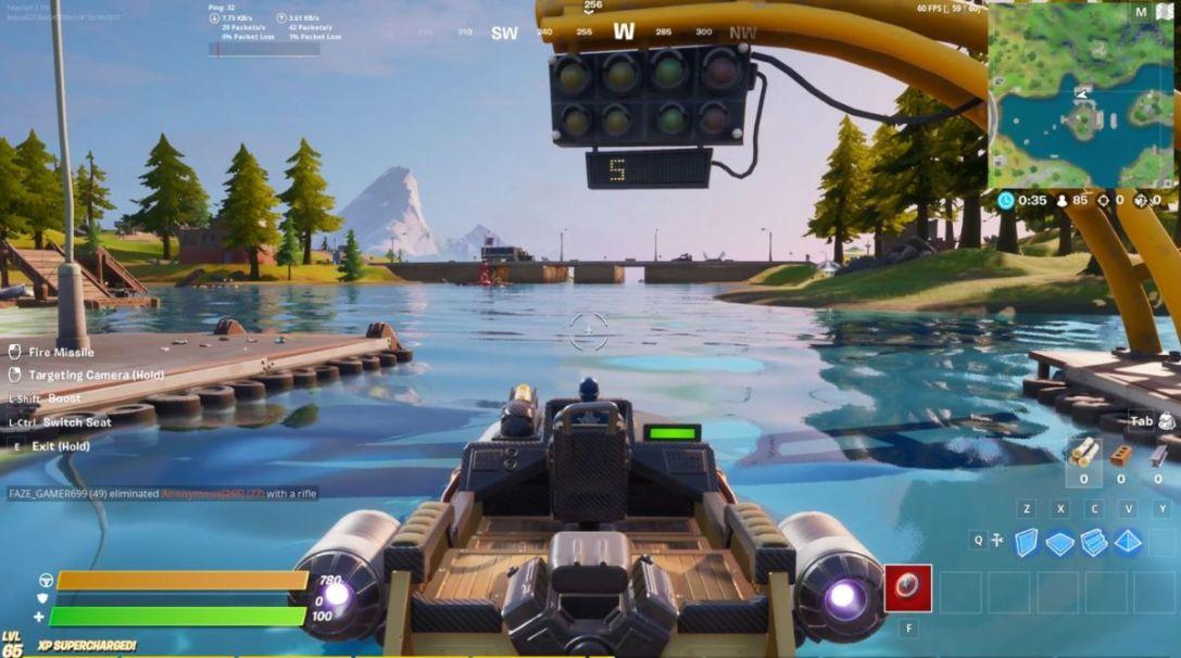 Motorboat Mayhem lap