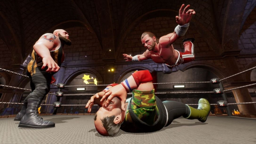 WWE 2K Battlegrounds Roster