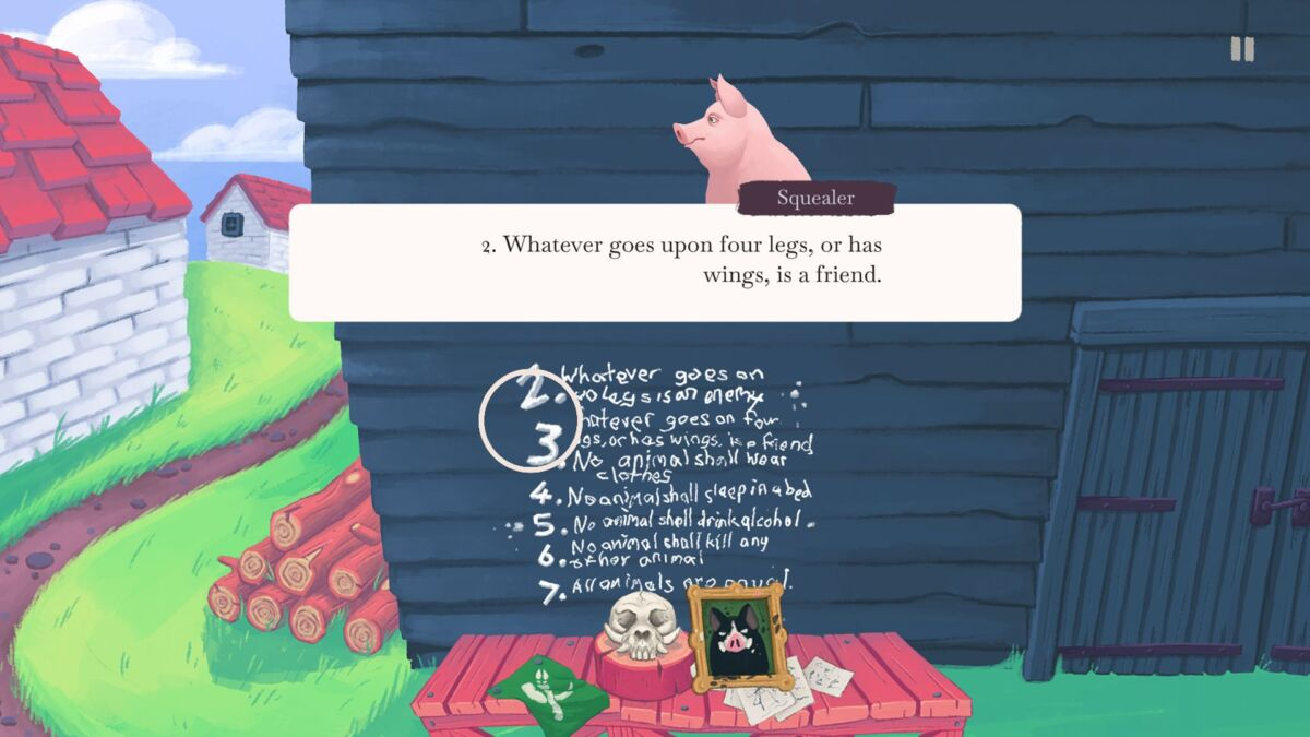George Orwell's Animal Farm Comes To Gaming In Autumn