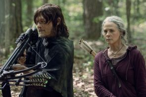 the walking dead norman reedus Melissa McBride