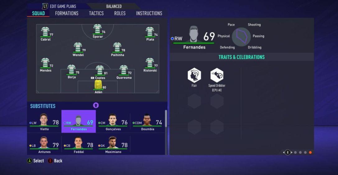 Joelson Fernandes FIFA 21