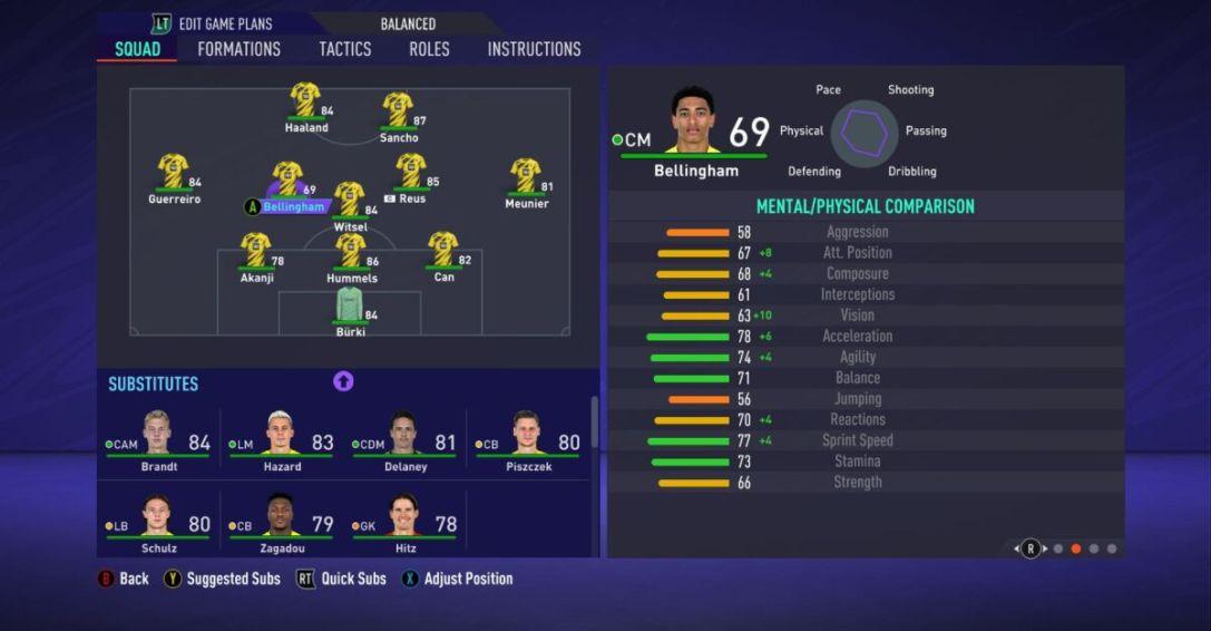 Jude Bellingham FIFA 21 1