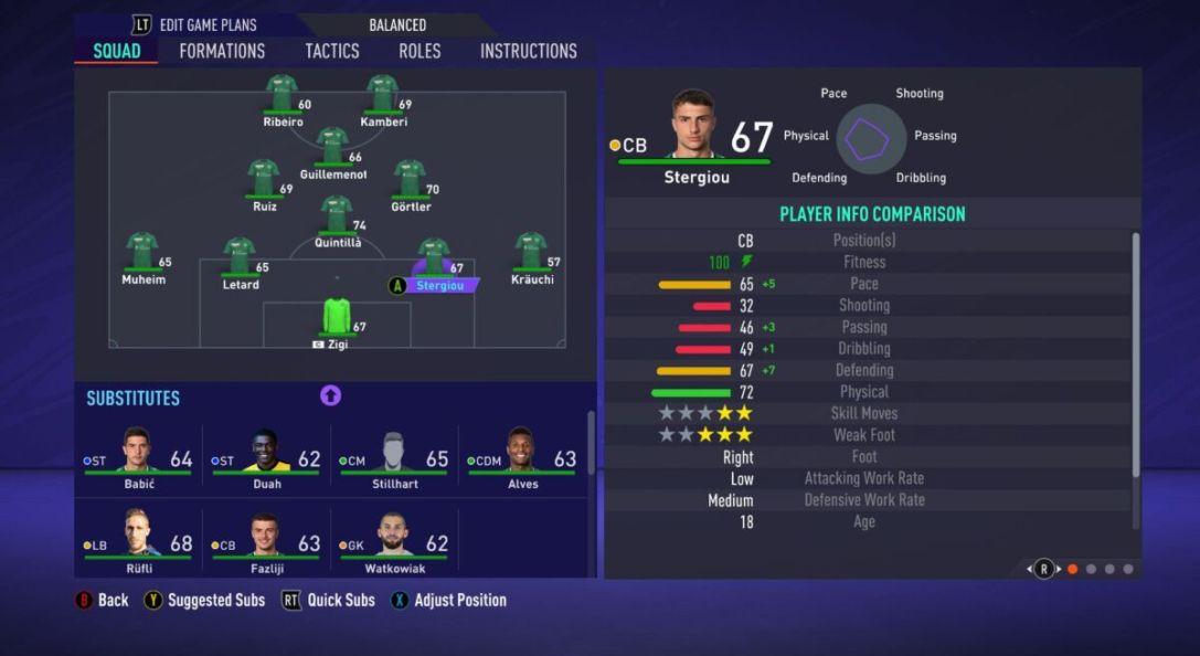 Leonidas Stergiou FIFA 21
