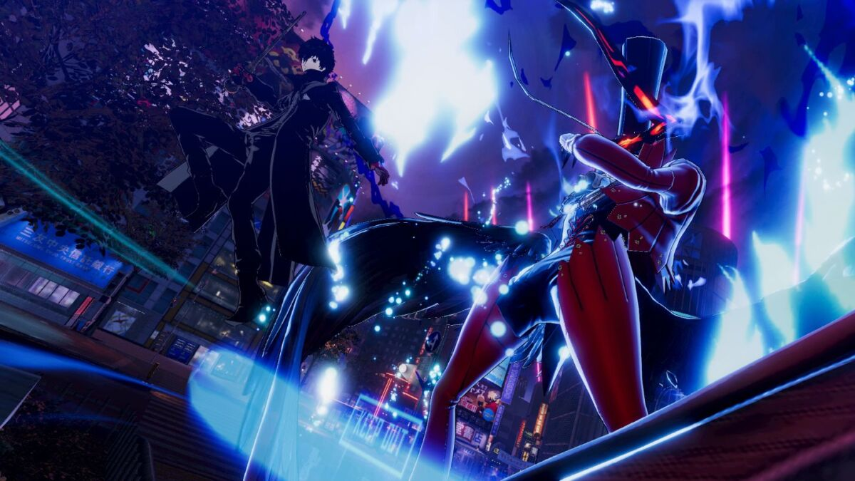 Persona 5 Strikers All Out Action Trailer Released