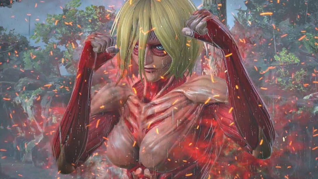 Female Titan — Attack on Titan video games