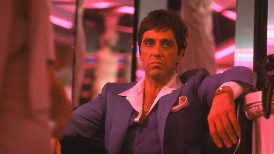 Al Pacino in Scarface