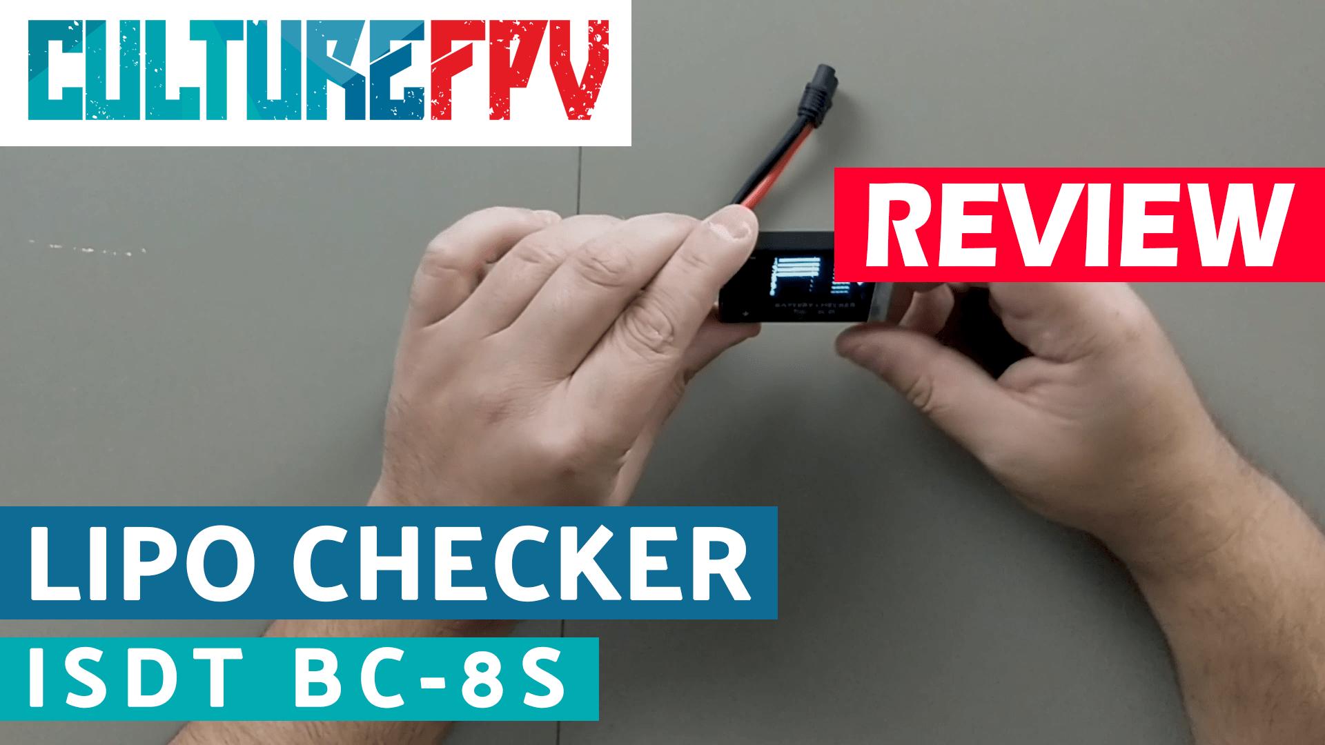 ISDT BC-8S Lipo checker