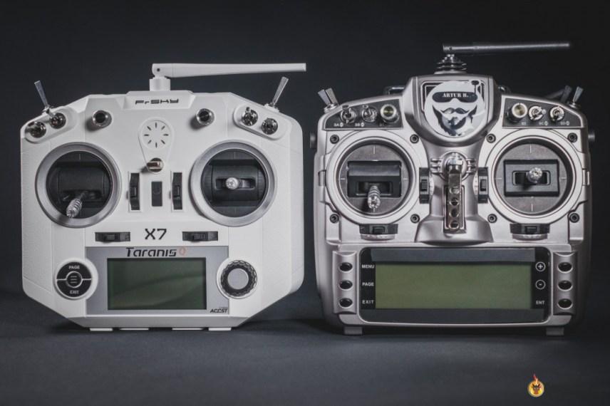Debuter le drone FPV - Taranis