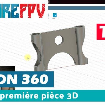 tuto fusion 360 premire piece 3D