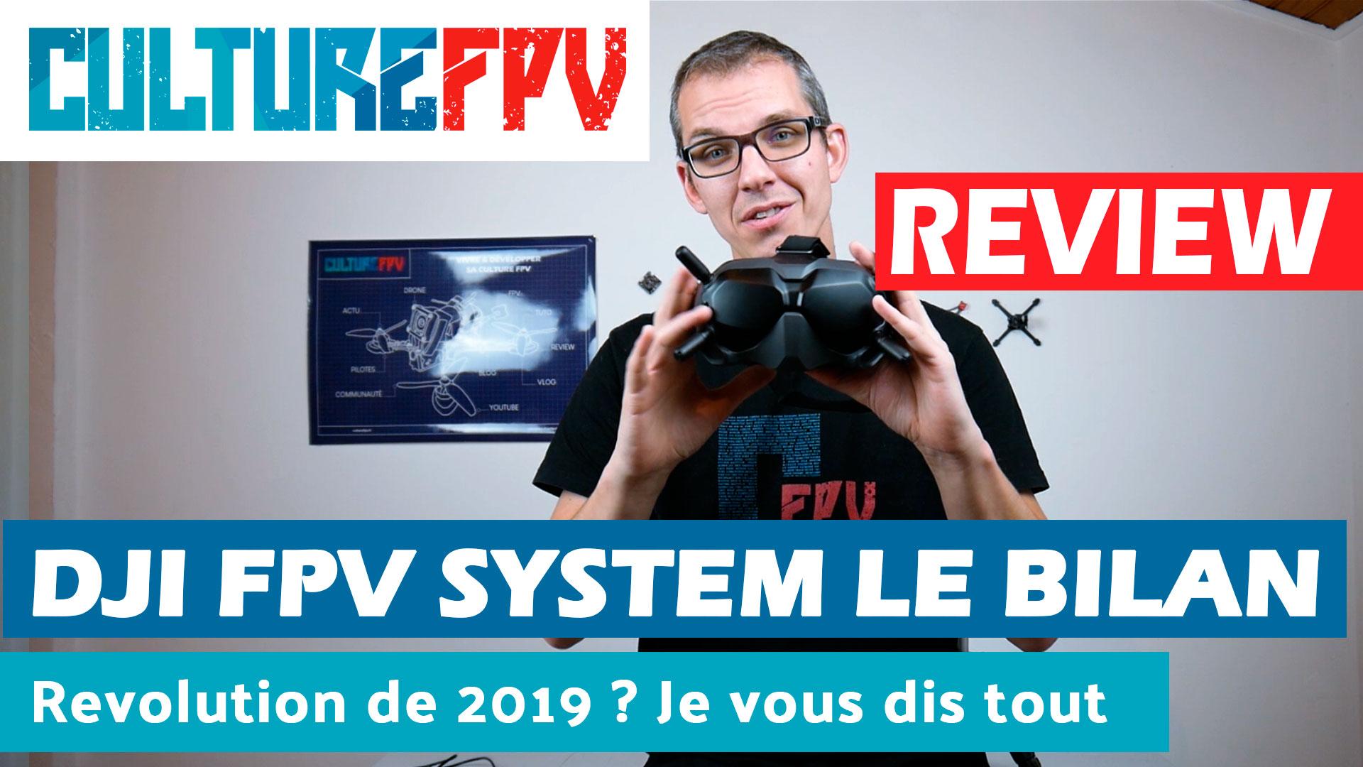 DJY FPV SYSTEM Bilan