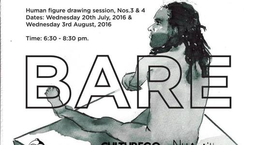 JUL. 20 & AUG. 3/ BARE-HUMAN FIGURE DRAWING SESSION, NOS. 3 & 4