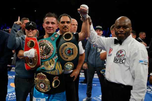 Gennady Golovkin v Kell Brook - world titles