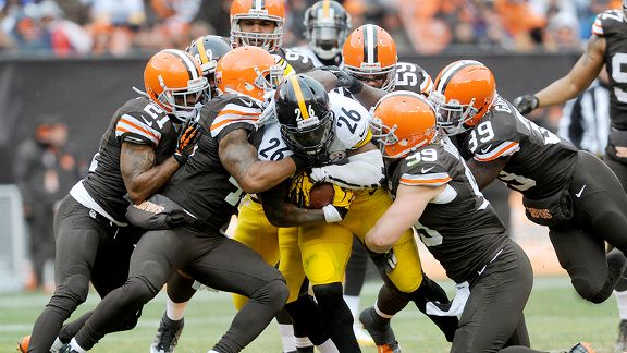 LeVeon Bell v Cleveland Browns