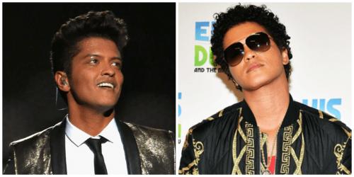 Bruno Mars Hair