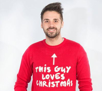 Ben Haenow Christmas Jumper