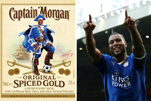 Wes Morgan & Captain Morgan