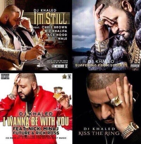 DJ Khaled album covers
