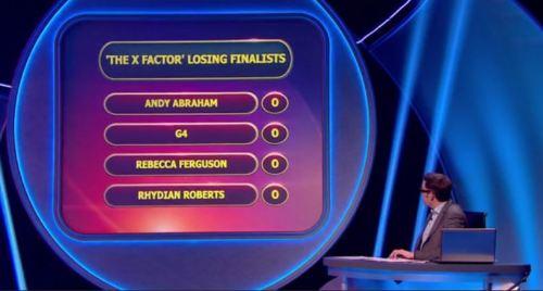 Rebecca Ferguson - Pointless answer