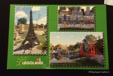 Postcard from Legoland.