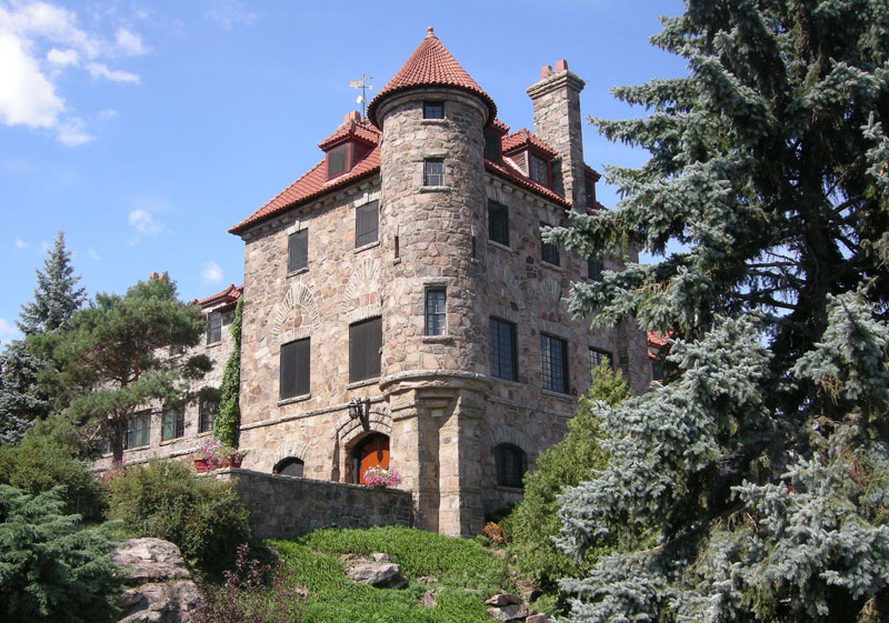 Singer Castle on Dark Island, New York
