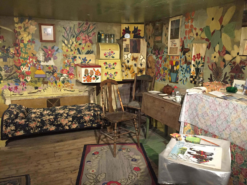 Tiny House Of Nova Scotia Folk Artist Maud Lewis Preserved