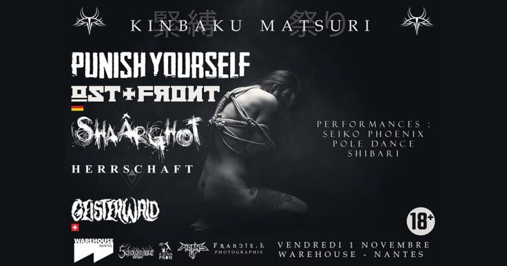 Punish Yourself + Shaârghot + Herrshaft @ Nantes