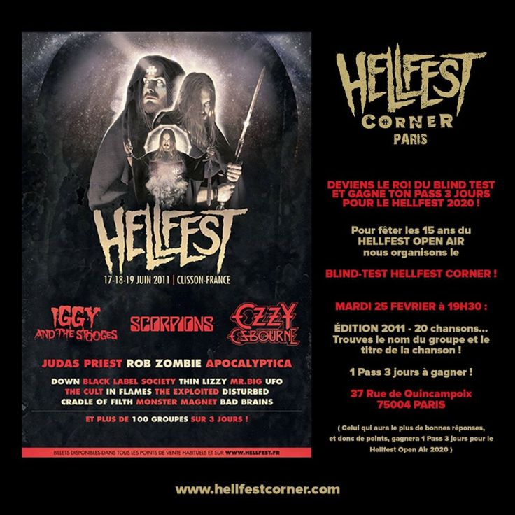 Blind Test Hellfest Corner 2011
