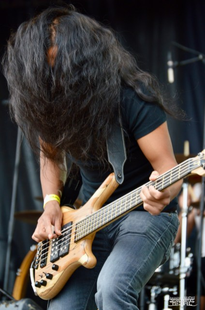 Alcest @ Motocultor 2015 -3