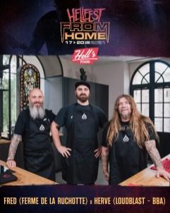 Hell Food & Hervé Coquerel