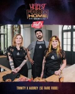 Hell Food Trinity & Audrey