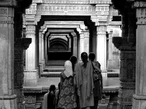 A Step-Well, a World Heritage site in Gandhinagar in India   Photography by Randy Gener