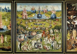 """Hieronymus Bosch's painting """"The Garden of Earthly Delights"""""""