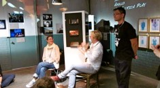 """Randy Gener hosts daily gallery talks at """"From the Edge"""" in Prague   Photo by RG"""