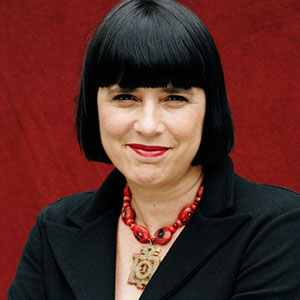 "Eve Ensler, V-Day founder and author of ""Vagina Monologues"""