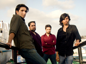 Pakistani rock band noori | Photo by Mandana Zaidi