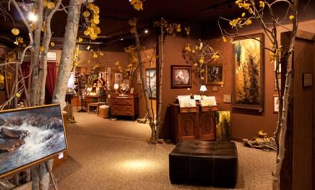 Inside Simpich Showcase in Colorado Springs, Colorado