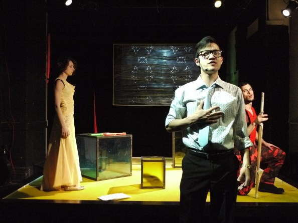 "Mabou Mines workshop pf Kyoung H. Park's play ""Tala"" in April 2012 