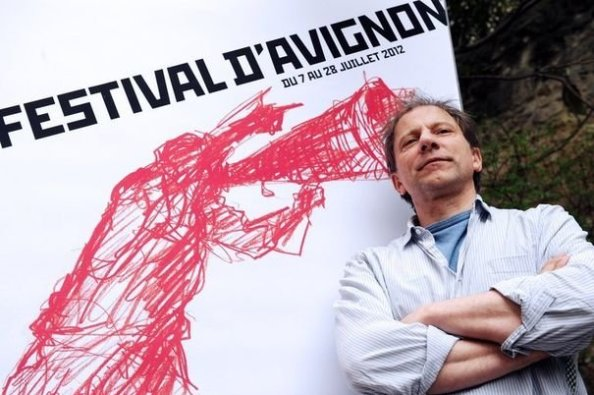 Simon McBurney at Festival D'Avignon | Photo by Anne-Christine Poujoulat