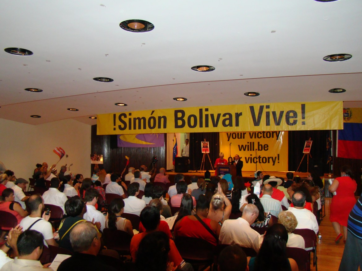 New York celebrates Venezuela's Bolivarian Revolution