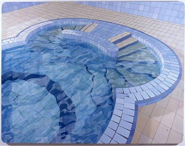 """O Húngaro (The Hungarian)"", oil of canvas (2006) by Adriana Varejao 