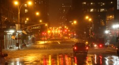 Heavy rains batter Manhattan on Monday Oct. 29, 2012 | Photo by CNN