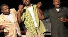 """Stanley Makuwe's play """"The Coup"""""""