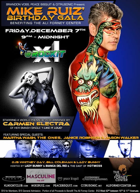 Mike Ruiz's annual birthday celebration at XL Nightclub's ROCKIT PARTY hosted by Brandon Voss