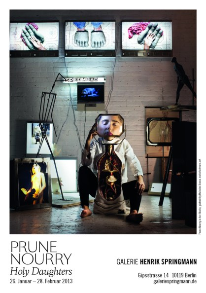 "Prune Nourry's Berlin show ""Holy Daughters"" 