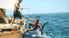 "Torstein Raaby and Knut Haugland in ""Kon-tiki"" (Norway) 