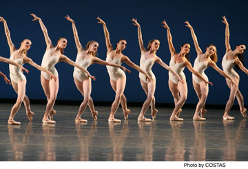 Symphony in Three Movements Choreography by George Balanchine (c) The George Balanchine Trust