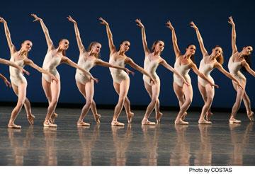 Symphony in Three Movements Choreography by George Balanchine (c) The George Balanchine Trust