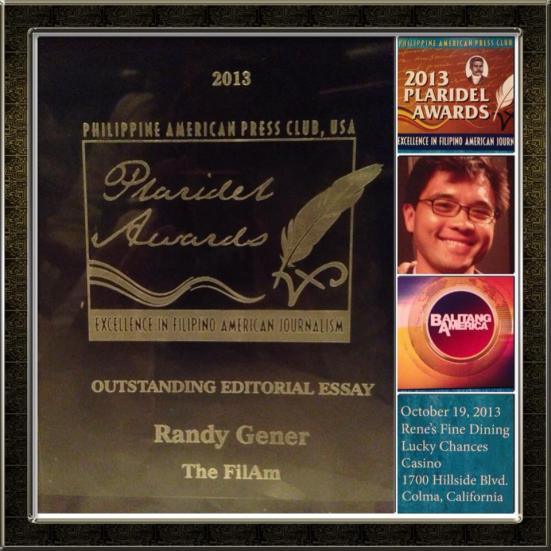 Plaridel Award for Outstanding Editorial Essay