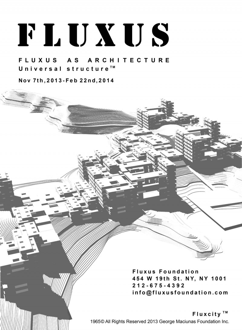 FLUXUS AS ARCHITECTURE | Arguing for structural coherence in George Maciunas's prefab designs