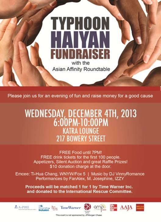 AAJA-NY Typhoon Haiyan Fundraiser